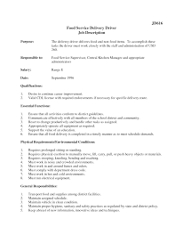 Job Description Of Cashier For Resume by Truck Driver Job Description Resume Free Resume Example And