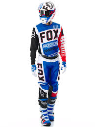 fox motocross gear australia fox blue red limited edition fiend 180 mx jersey fox