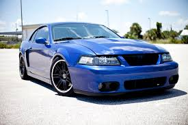 mustang supercharged for sale 2003 sonic blue ford mustang svt cobra 76k 6 speed