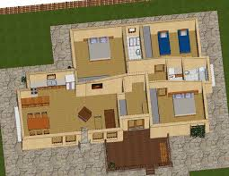 Spacious 3 Bedroom House Plans Newly Built 3 Bedroom House With Wooden Design And Original Layout