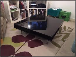 black high gloss coffee table ikea coffee table home