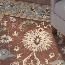 Brown And Blue Area Rug by Living Room Blue Area Rugs The Home Depot Pertaining To Stylish