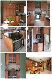 kitchen remodel with wood cabinets our to white kitchen remodel before and after setting