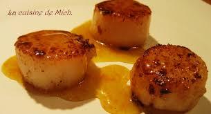 cuisine coquille st jacques coquilles jacques panées au ras el hanout vinaigrette au miel