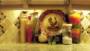 very elegant rooster kitchen decor