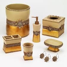 Avanti Bathroom Accessories by Braided Medallion Bathroom Accessories Collection