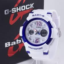 Jam Tangan Baby G baby g bga 210 putih biru 盪 jam tangan grosir termurah