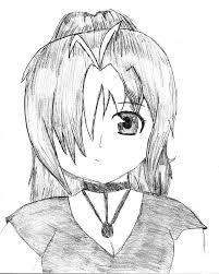 Emo Hairstyles Drawings by Drawn Emo Emo Person Pencil And In Color Drawn Emo Emo Person