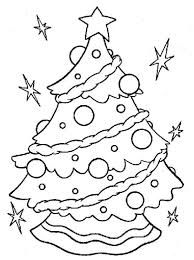 children christmas tree coloring pages christian