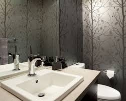 bathroom appealing art deco bathroom design with shiny black
