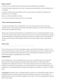 Targeted Resume Template Resume Types Formats Resume Cv Cover Letter