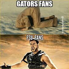 Uf Memes - fsu memes on twitter fsu vs gators fans going to work today