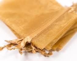 gold organza bags gold organza bag etsy