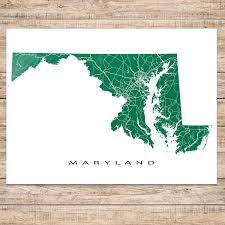 Usa State Maps by Maryland State On Usa Map Maryland Flag And Map Us States