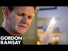 how to sharpen a knife gordon ramsay youtube