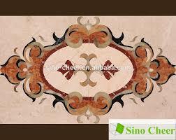 luxury building material marble inlay marble flooring