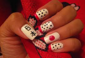 5 finger discount cute holiday nail art on a budget japan nail art