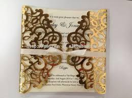 wholesale wedding invitations aliexpress buy laser cut luxury wedding invitation cards