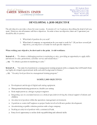 Objective Resume Examples Entry Level Format Career Objective Examples For Resume Charming Examples Of