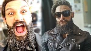 what is a viking haircut man bun meets viking beard how to grow hair beard styling
