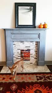 faux fireplace mantel diy decoration idea luxury creative at faux