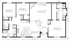 1 Bedroom Modular Homes Floor Plans by Home Red Lake 146004 Canadian Modular Mw Floor Plan Fairmont