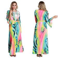 womens plus size maxi dress ladies plus size tropical paisley