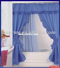 Swag Shower Curtain Sets Shower Curtains Double Swag Bizrice Com