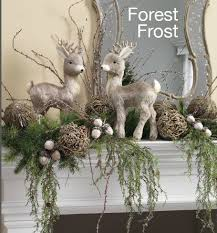 Tall Christmas Decorations For Mantle by Best 25 Christmas Mantle Decorations Ideas On Pinterest
