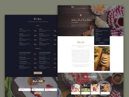 free download high quality restaurant psd themes templates