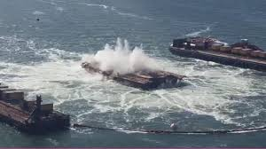 Caltrans Traffic Map Caltrans Blasting Away 13 Of 19 Remaining Piers From Old Bay