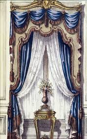 245 best vintage drapery styles images on pinterest curtain