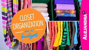 video closet organization on a budget part 4 of 4 dollar store