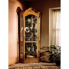 how to arrange a corner china cabinet branscum corner curio cabinet