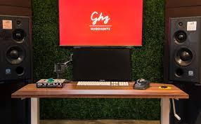 Studio Monitor Desk by Canopener Studio Vs Waves Nx