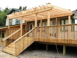 Design A Pergola by How To Build A Pergola On A Raised Deck U2014 All Home Design Ideas