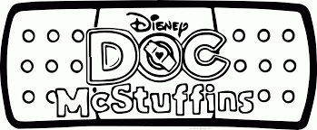 doc mcstuffins bandaid coloring page wecoloringpage coloring home