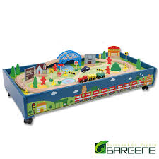 thomas the train wooden track table wooden train table tracks children pretend play set toy kids