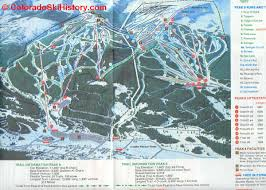 Ski Resorts In Colorado Map by History Of The Breckenridge Ski Area
