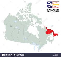 map of canada by province outline map of the canadian province newfoundland and labrador