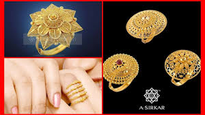 golden rings designs images Gold rings designs in 3 grams gold ring designs with weight jpg