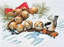 pumpernickel cards christmas cards jingle bell bird pumpernickel press made in the