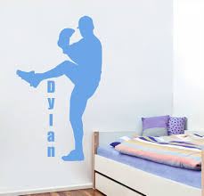 Name Wall Decals For Nursery by Online Get Cheap Baseball Nursery Aliexpress Com Alibaba Group