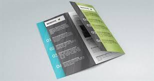 brochure psd template 3 fold fold brochure psd free template psddude