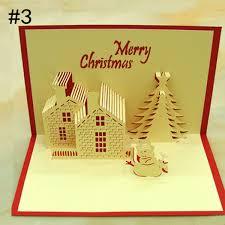 handmade children fashion thank creative gift 3d greeting