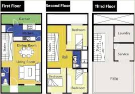 small 3 story house plans small lot house plans homes zone