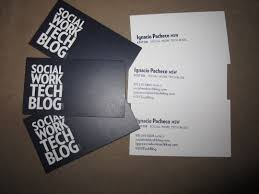 official social work tech blog business cards u2013 social work tech