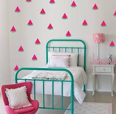 kids room decor wall decals nursery wall stickers watermelon wall decals watermelon