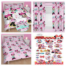 Minnie Mouse Bedding And Curtains by Mickey Amp Minnie Mouse Bedroom Bedding Curtains Popular Minnie