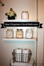 Organize Bathroom by Sprinkled Just Right How I Organize A Small Bathroom
